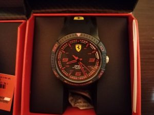 Welcome kit - Ferrari karóra